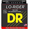 DR Strings Lo Rider MH6-30 Medium Stainless Steel 6-String Bass Guitar Strings .125 Low B