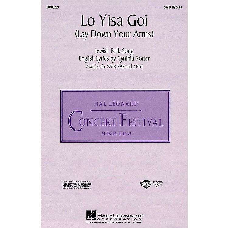 Hal LeonardLo Yisa Goi (Lay Down Your Arms) IPAKS Arranged by Ed Lojeski