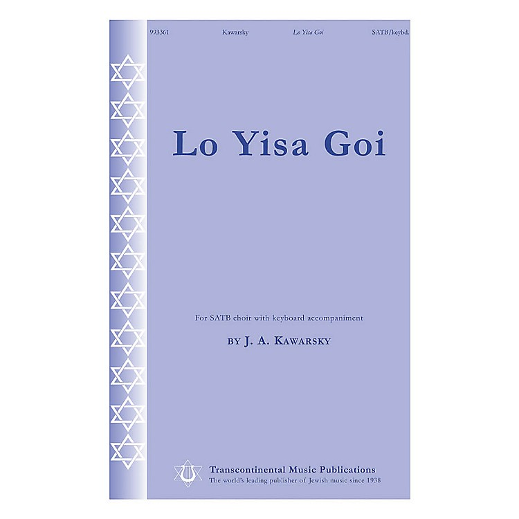 Transcontinental MusicLo Yisa Goi SATB composed by Jay Kawarsky