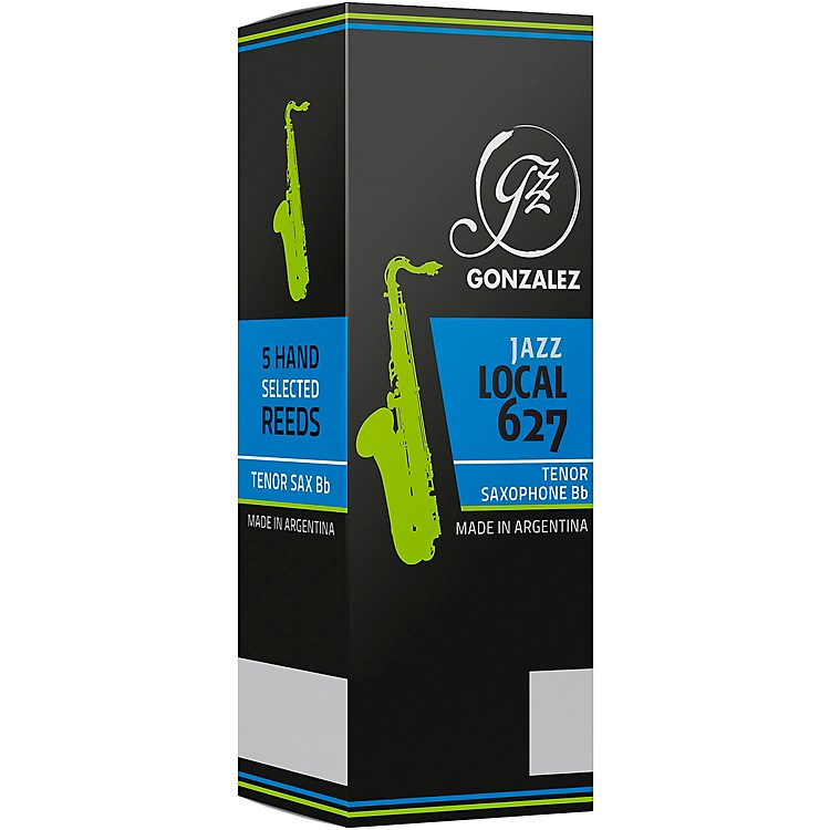 Gonzalez Local 627 Tenor Saxophone Reeds Box of 5 Strength 3