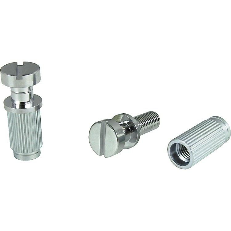 TonePros Locking Studs-US Thread Chrome