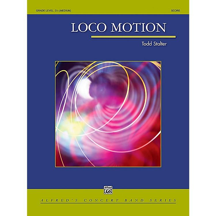 AlfredLoco Motion Concert Band Grade 3.5 (Medium)
