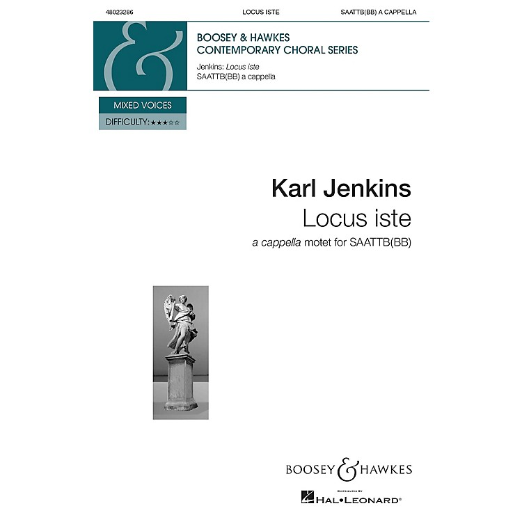 Boosey and HawkesLocus Iste from The Peacemakers (SAATTB(BB) a cappella) SSAATTBB composed by Karl Jenkins