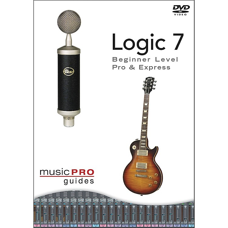 Hal Leonard Logic 7 - Beginner Level, Pro and Express DVD