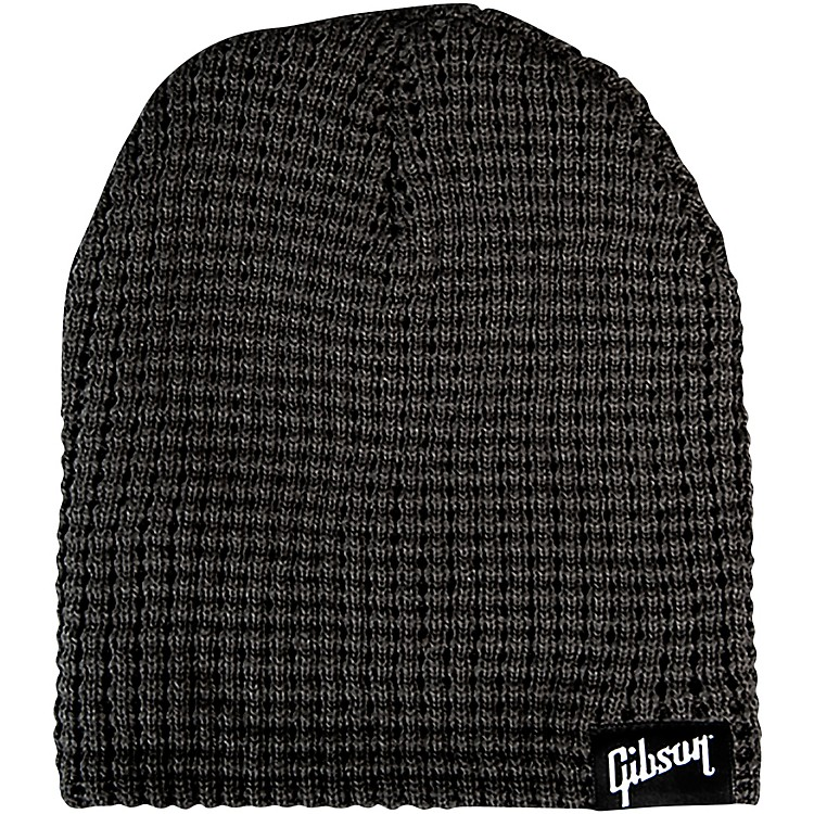 GibsonLogo Beanie, CharcoalOne Size Fits All