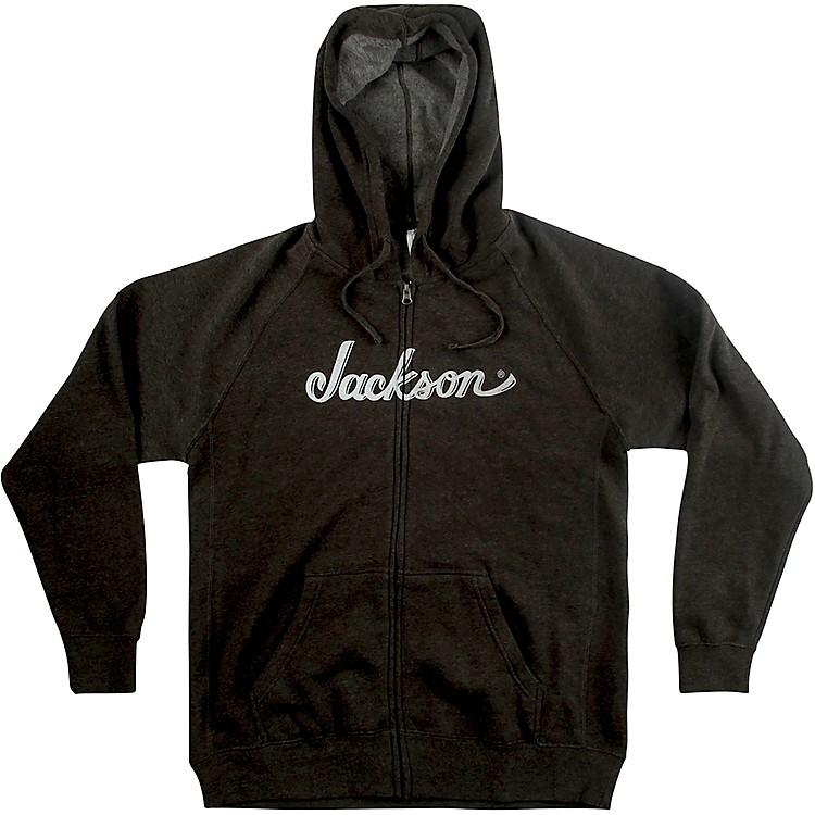 JacksonLogo Hoodie - GrayMedium