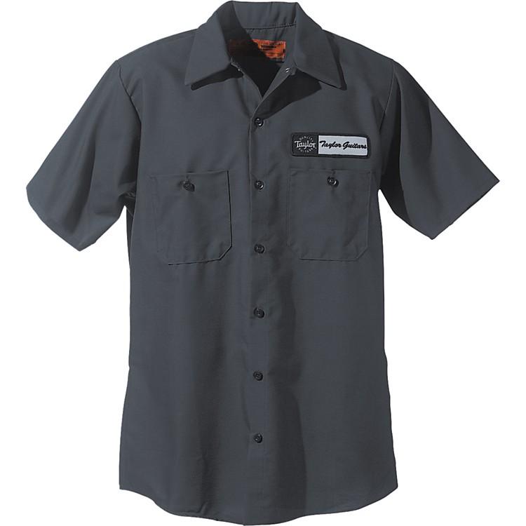 TaylorLogo Mechanic's ShirtCharcoalExtra Large