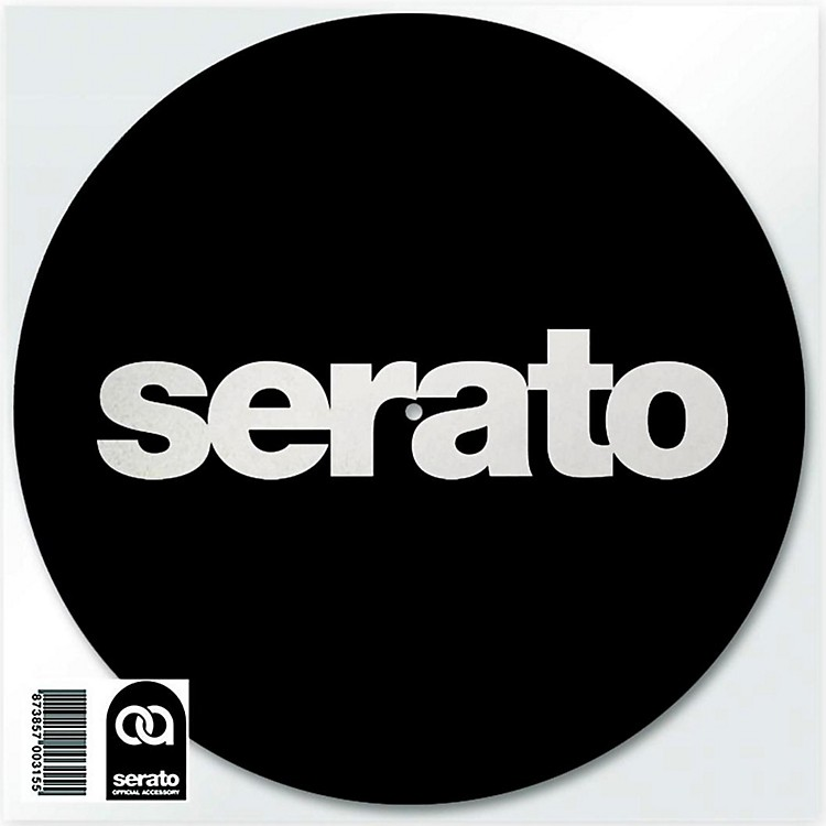 SERATO Logo Slipmats (Pair) Black
