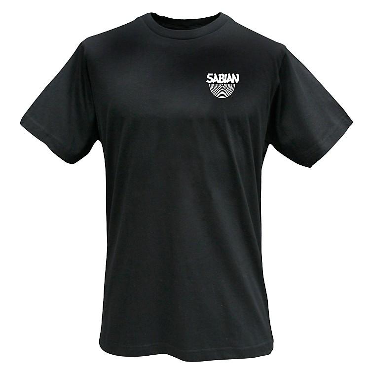 SabianLogo T-Shirt, BlackLarge