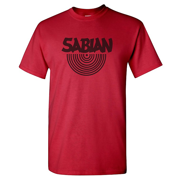 Sabian Logo T-Shirt Cardinal Red XX-Large