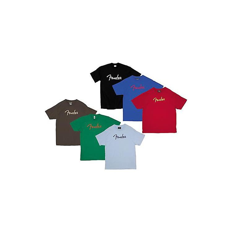 FenderLogo T-ShirtChocolateExtra Extra Large
