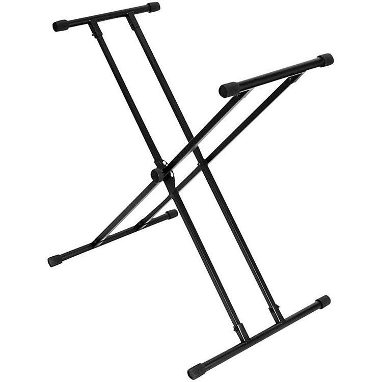 On-Stage StandsLok Tight Classic Double X Keyboard Stand
