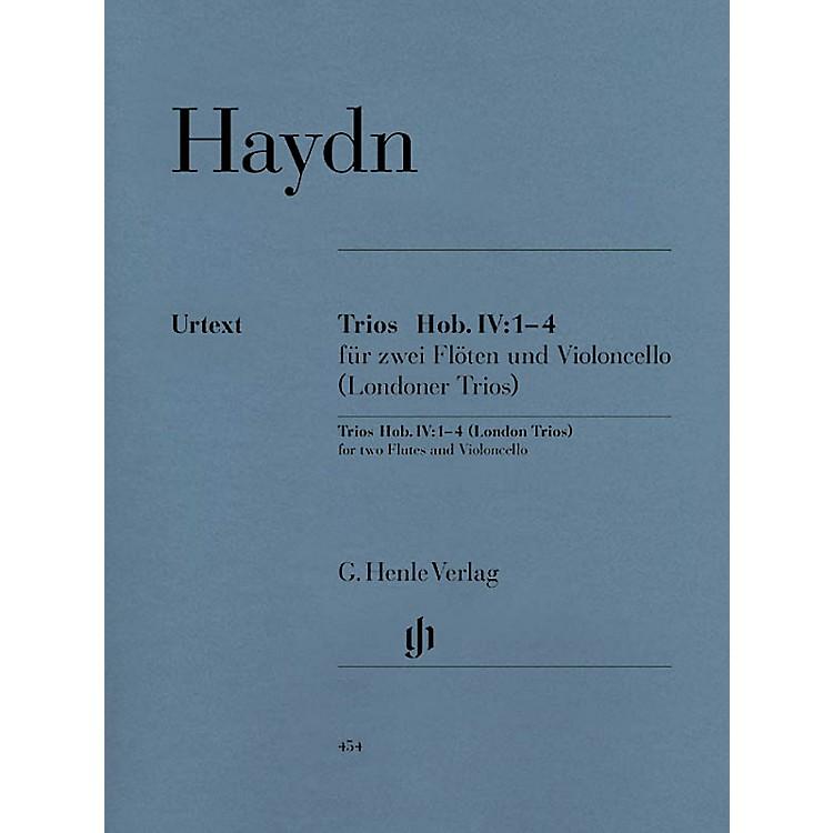 G. Henle VerlagLondon Trios Hob.IV:1-4 Henle Music Folios Series Softcover Composed by Joseph Haydn