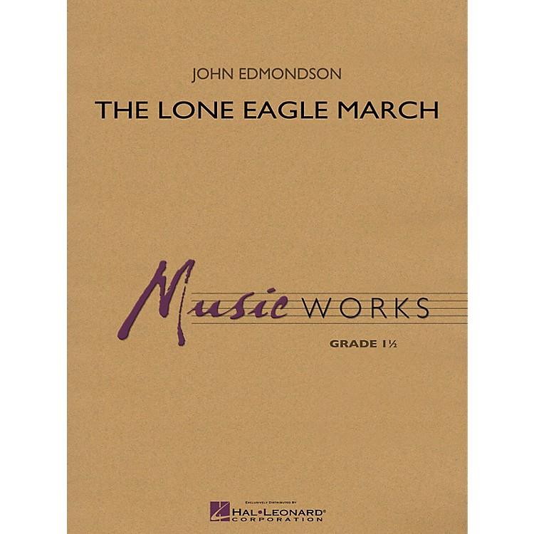 Hal LeonardLone Eagle March Concert Band Level 1.5 Composed by John Edmondson