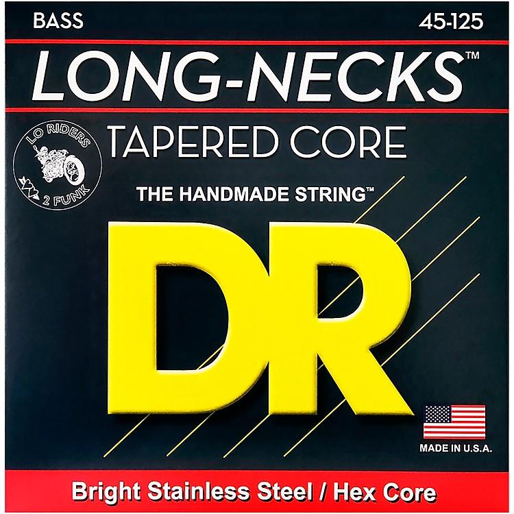 DR StringsLong Necks Taper Core Medium 5-String Bass Strings