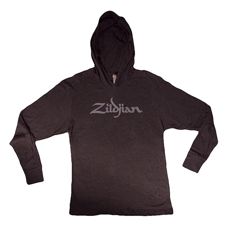 ZildjianLong Sleeve Hooded Shirt, BlackSmall