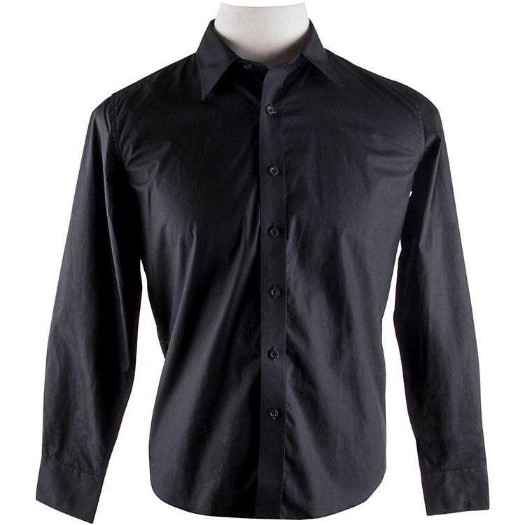 FenderLong Sleeve ShirtBlackExtra-Large