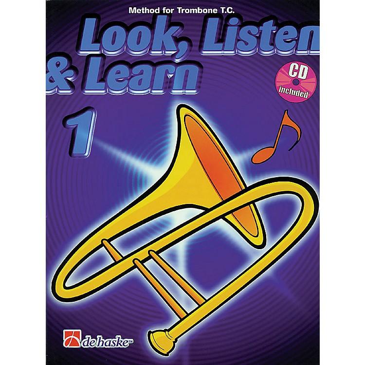 Hal LeonardLook, Listen & Learn - Method Book Part 1 (Trombone (T.C.)) De Haske Play-Along Book Series