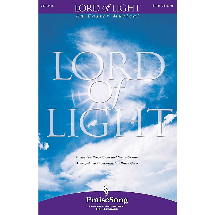 PraiseSongLord of Light CD 10-PAK Composed by Bruce Greer