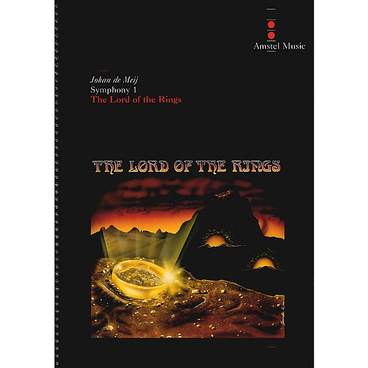 Amstel MusicLord of the Rings, The(Symphony No. 1) - Complete Edition Concert Band Level 5-6 by Johan de Meij