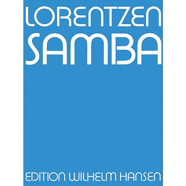 Music SalesLorentzen Samba Clt/Tbn/Vlc/Pf Player's Score Music Sales America Series