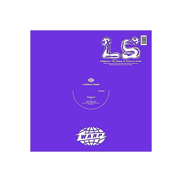 AllianceLorenzo Senni - Xallegrox / Shape Of Trance To Come