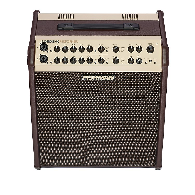 FishmanLoudbox Performer 180W Acoustic Guitar Combo Amp with EffectsBrown888365849195