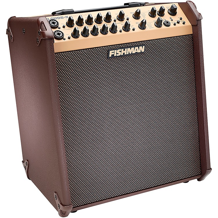FishmanLoudbox Performer 180W Bluetooth Acoustic Guitar Combo AmpBrown