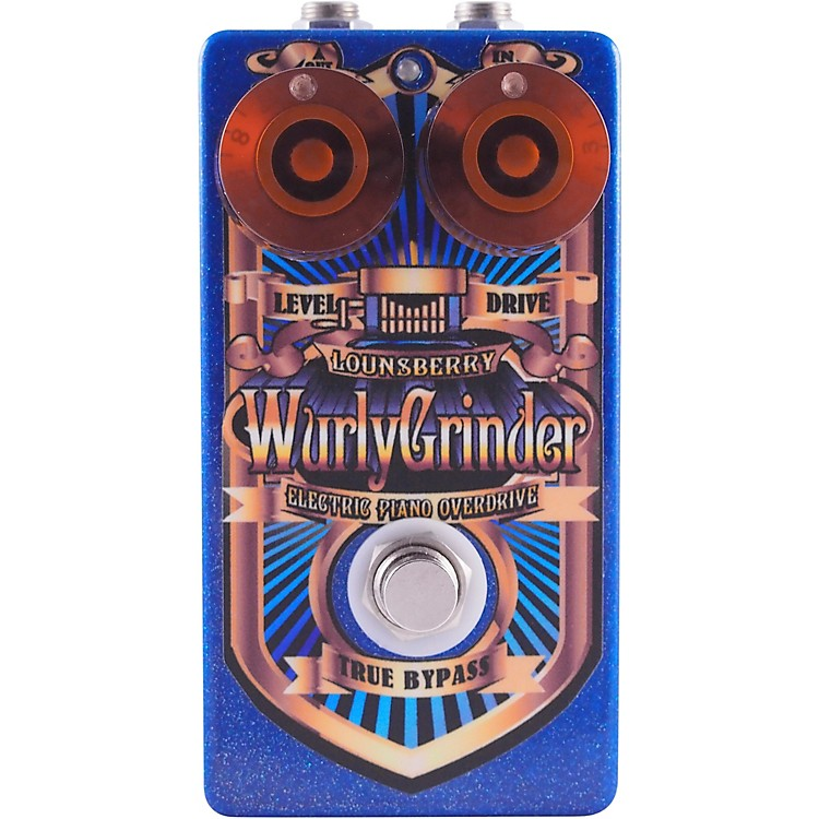 Lounsberry PedalsLounsberry Wurly Grinder Electric Piano Overdrive Effects Pedal