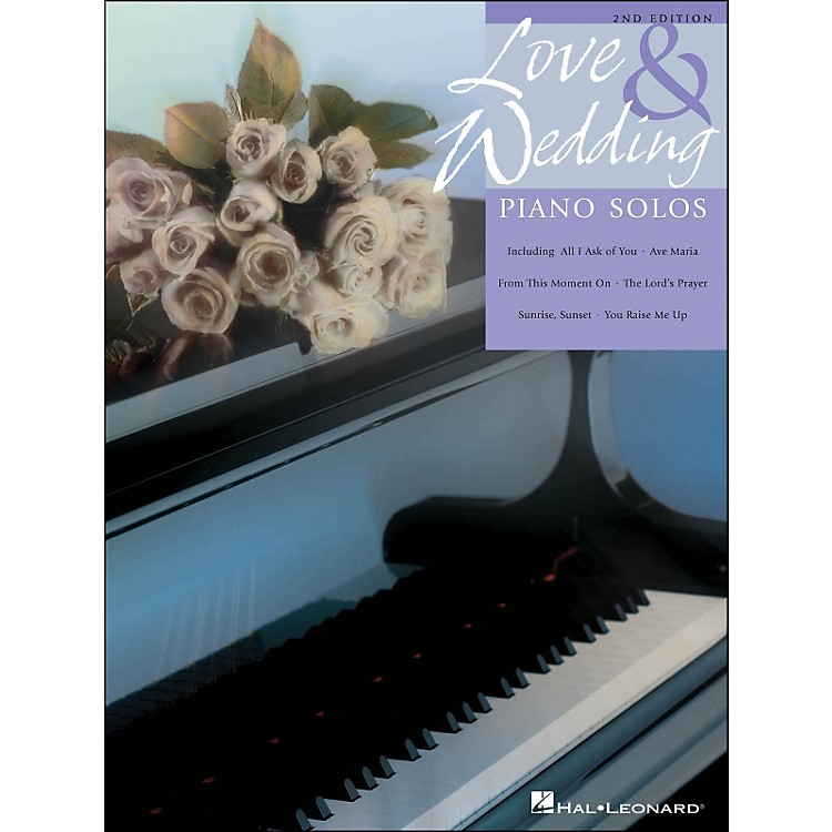 Hal Leonard Love And Wedding Piano Solos
