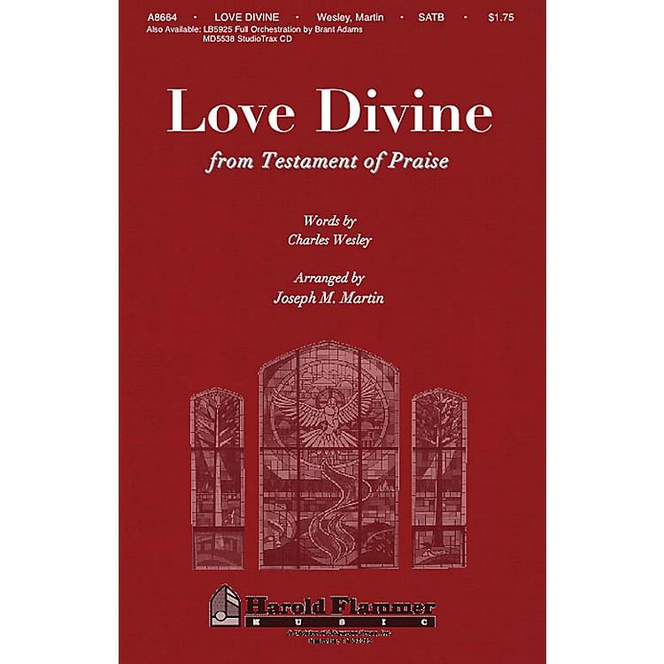 Shawnee PressLove Divine, All Love Excelling (from Testament of Praise) SATB arranged by Joseph M. Martin