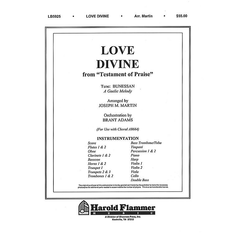 Shawnee PressLove Divine, All Love Excelling (from Testament of Praise) Score & Parts arranged by Joseph M. Martin