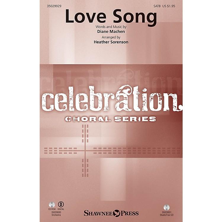 Shawnee PressLove Song Studiotrax CD Arranged by Heather Sorenson