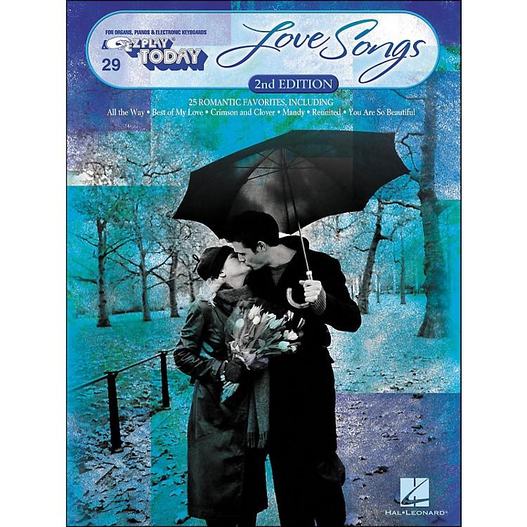 Hal LeonardLove Songs Second Edition E-Z Play 29