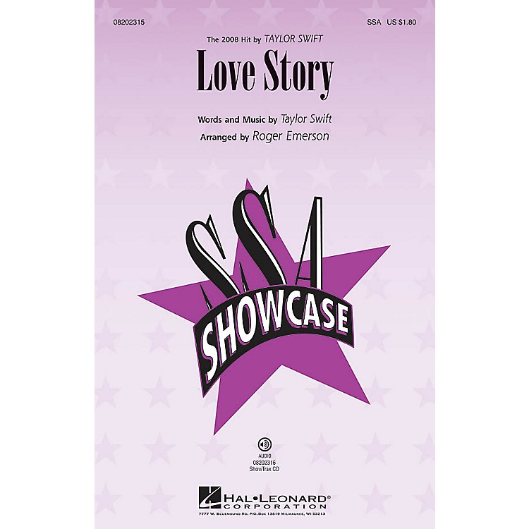 Hal LeonardLove Story ShowTrax CD by Taylor Swift Arranged by Roger Emerson