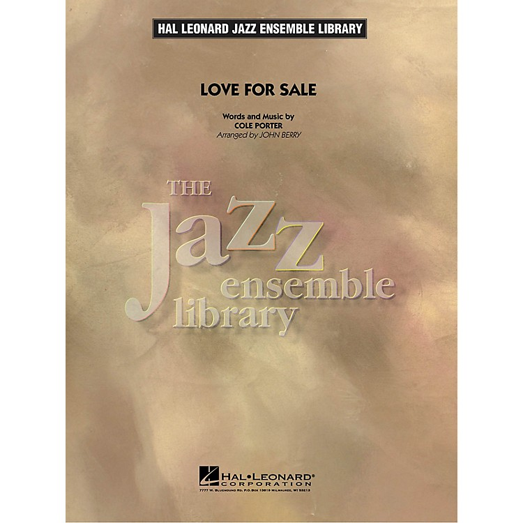 Hal Leonard Love for Sale Jazz Band Level 4 Arranged by John Berry