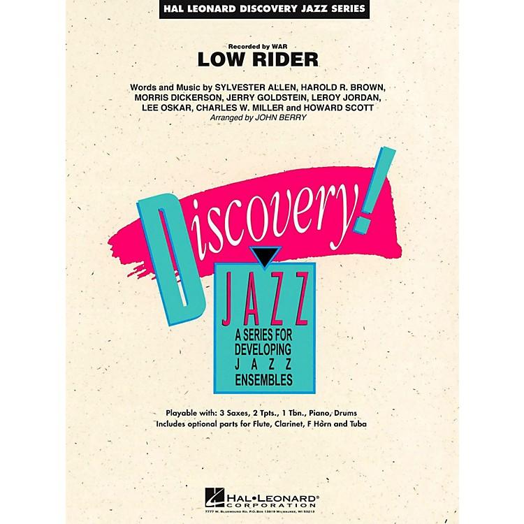 Hal LeonardLow Rider Jazz Band Level 1.5