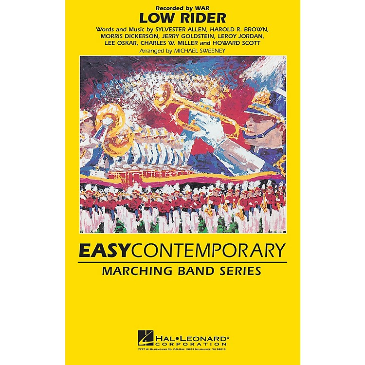 Hal LeonardLow Rider Marching Band Level 2 Arranged by Michael Sweeney