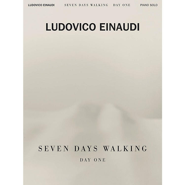 Hal Leonard Ludovico Einaudi - Seven Days Walking: Day One for Piano