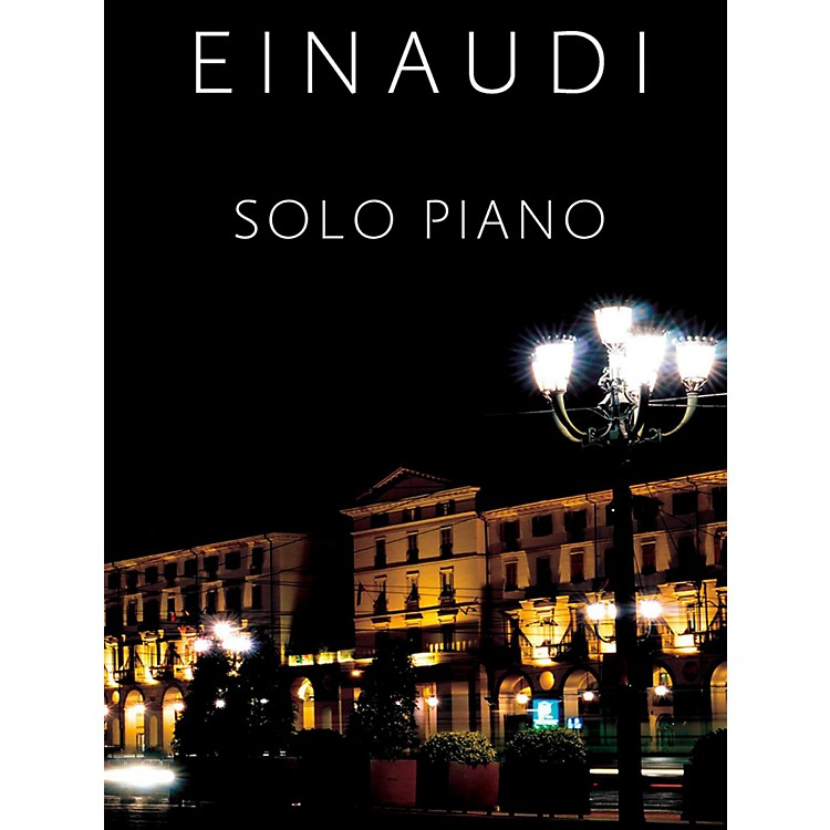 Music SalesLudovico Einaudi Solo Piano - Hard Cover with Slip Case Package