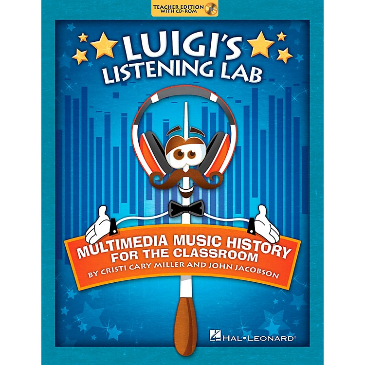 Hal Leonard Luigi's Listening Lab - Multimedia Music History for the Classroom Book/CD-ROM
