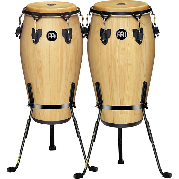 MeinlLuis Conte 2 Piece Conga Set with Free Basket Stands
