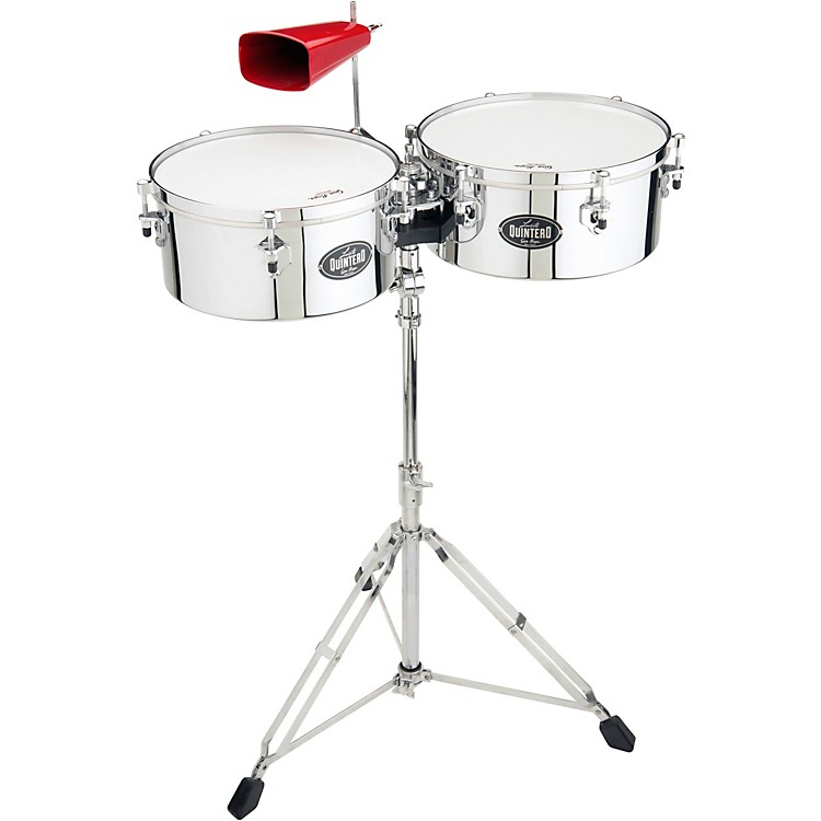 Gon Bops Luisito Quintero Signature Timbales 14 in./15 in. Steel