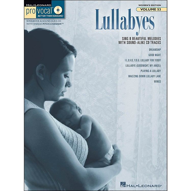 Hal Leonard Lullabyes - Pro Vocal Songbook & CD For Female Singers Volume 53