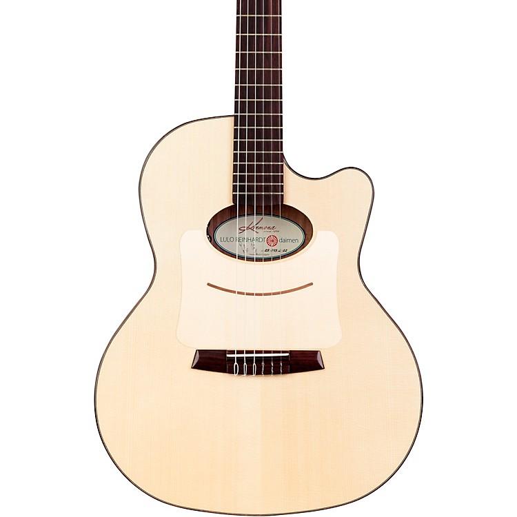 kremona lulo reinhardt daiman 14 fret nylon string acoustic electric guitar music123. Black Bedroom Furniture Sets. Home Design Ideas