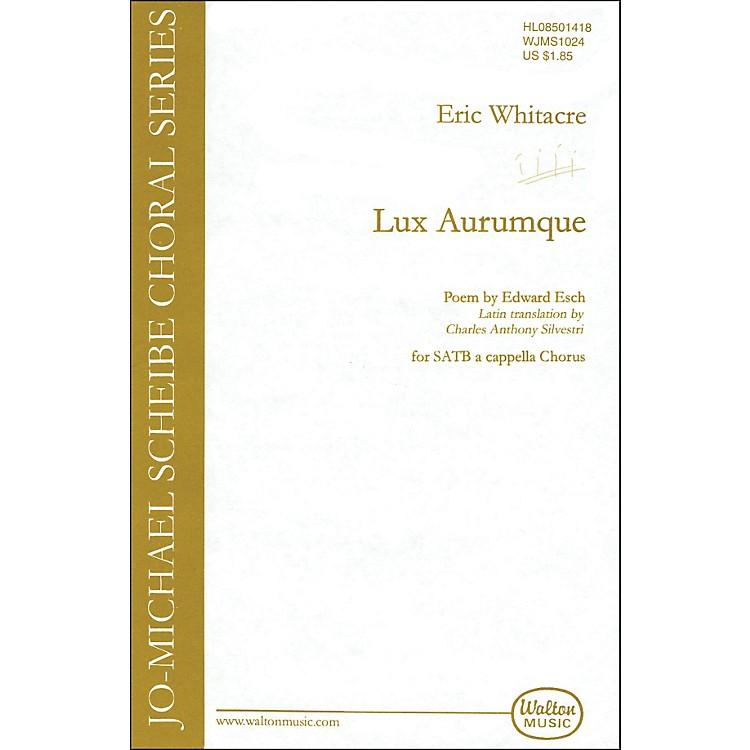 Walton MusicLux Aurumque SATB