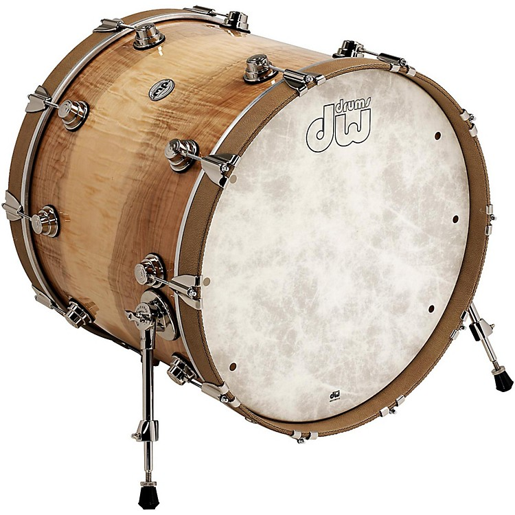 DWLux Leather Bass Drum Hoop22 InchBone