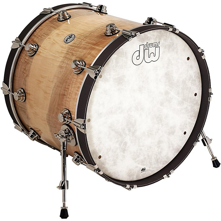 DWLux Leather Bass Drum Hoop22 InchCocoa