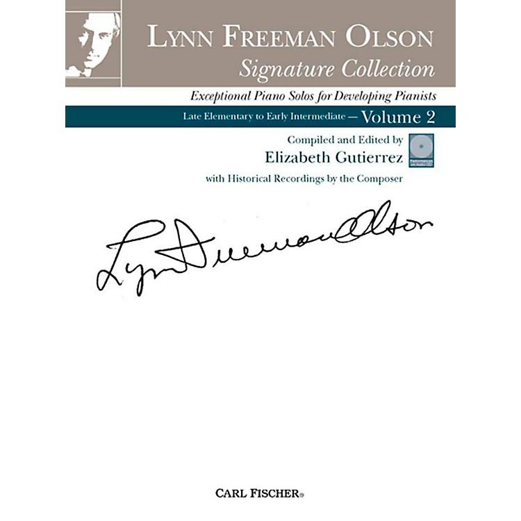 Carl FischerLynn Freeman Olson Collection for Piano (Book + CD)Volume 2