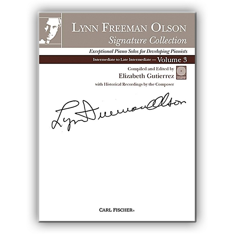 Carl Fischer Lynn Freeman Olson Collection for Piano (Book + CD) Volume 3